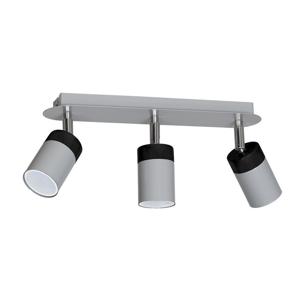 Gray Ceiling Lamp Joker Gray 3x Gu10