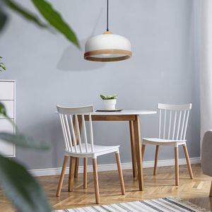 White Studio White 1x E27 Hanging Lamp small 1