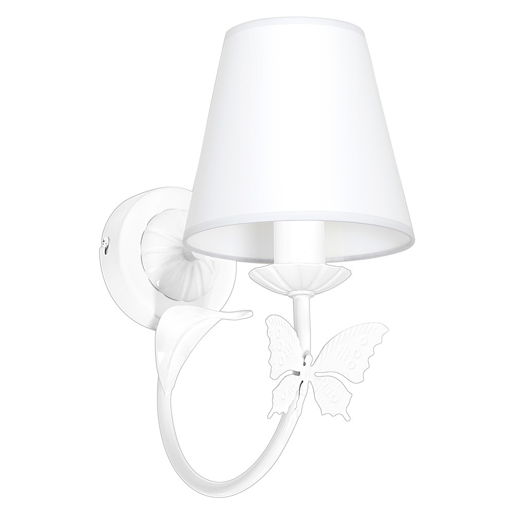Alice White 1x E14 wall lamp