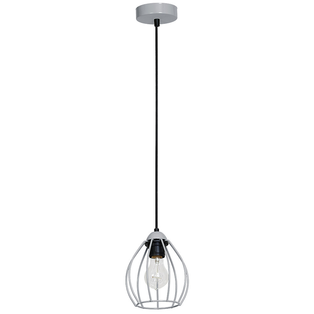 Hanging lamp Don Gray 1x E27