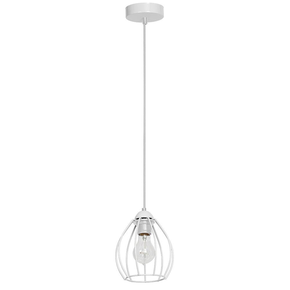 Hanging Lamp Don White 1x E27