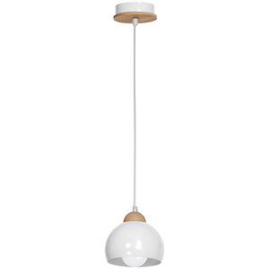 White Hanging Lamp Dama White 1x E27 small 1