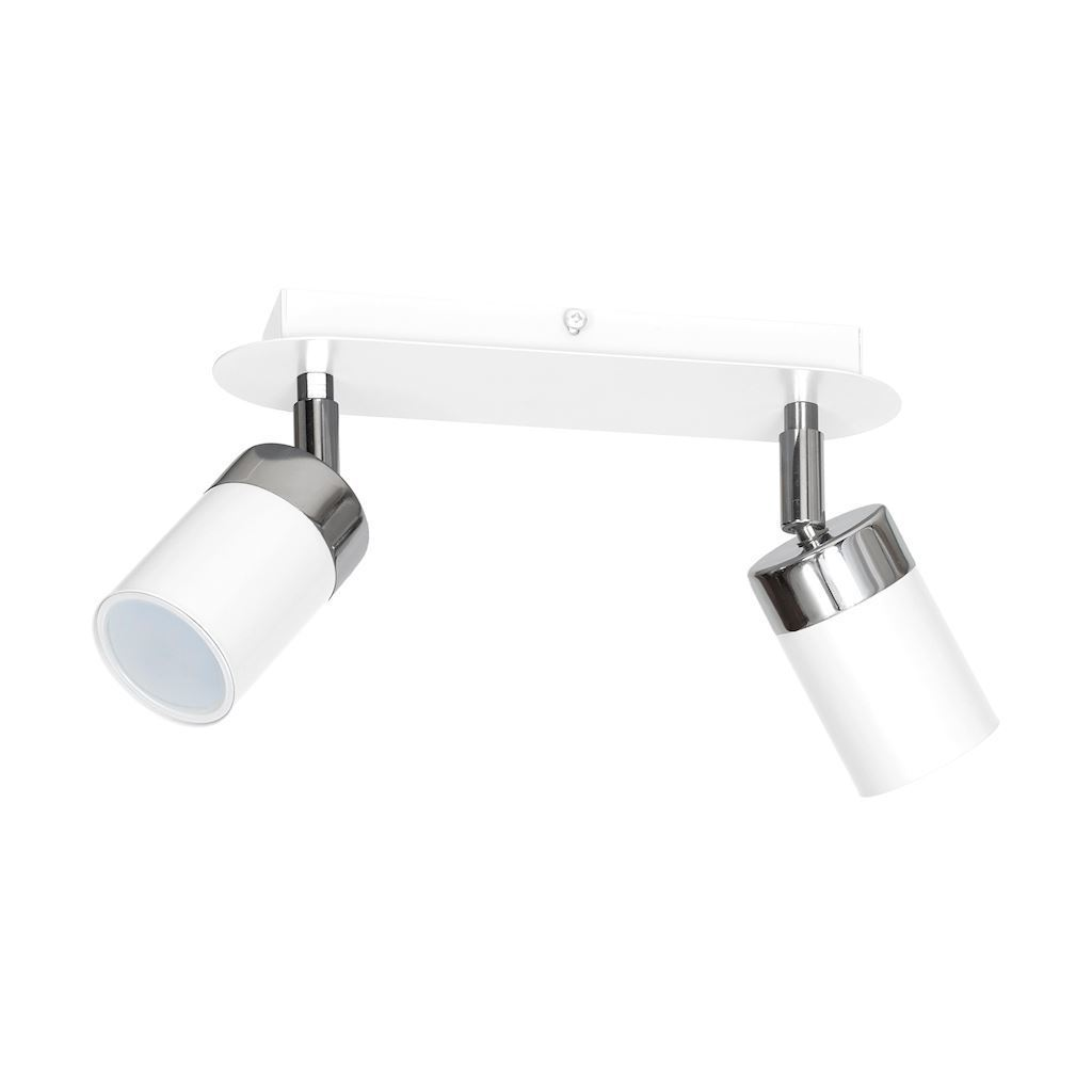 Joker White 2x Gu10 White Ceiling Lamp