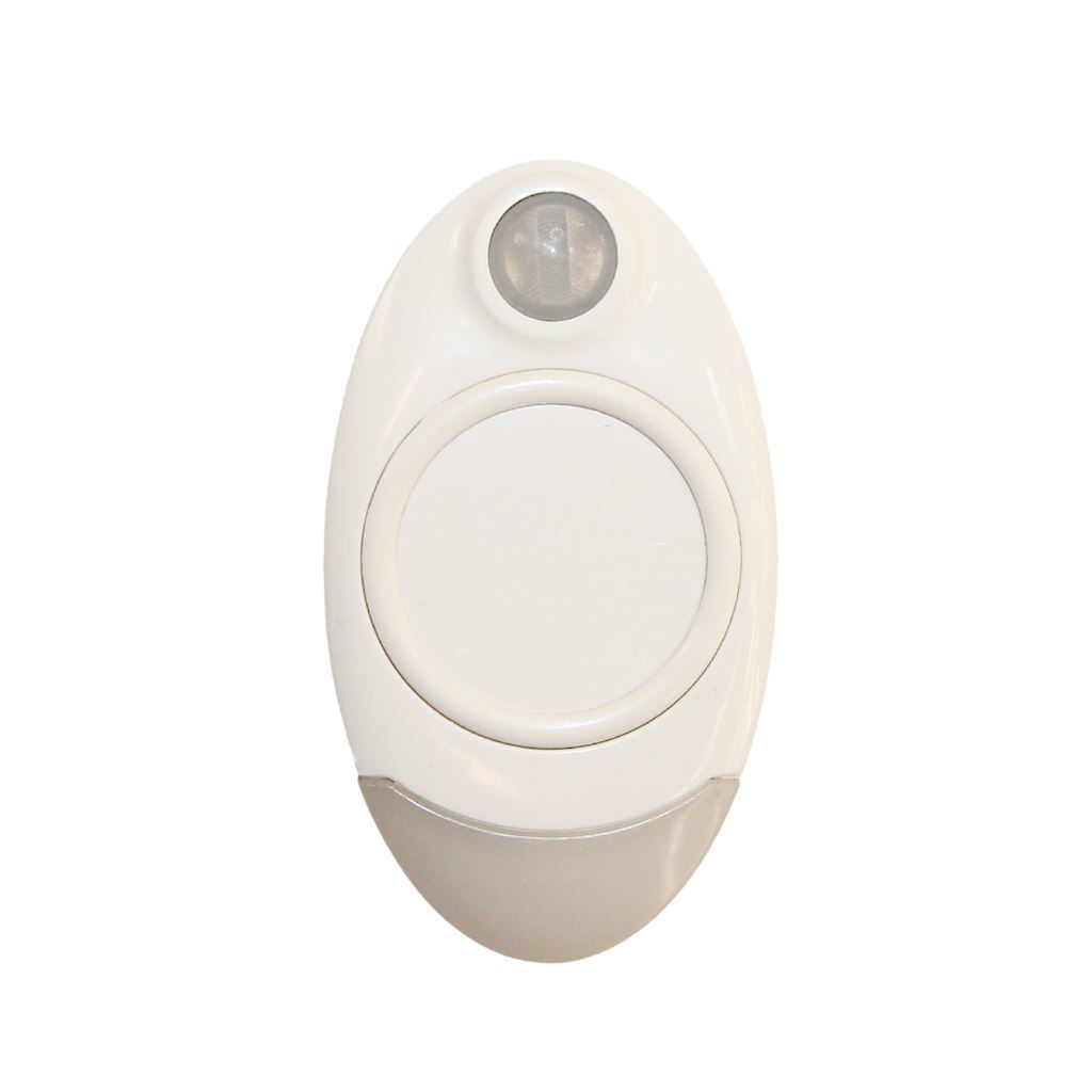 White Lamp With Movement Sensor For 4000K Hand Luggage