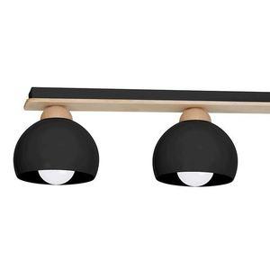 Black Ceiling Lamp Dama Black 3x E27 small 1