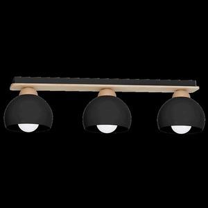 Black Ceiling Lamp Dama Black 3x E27 small 8