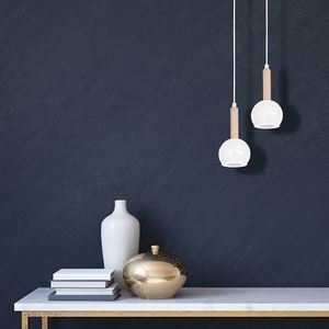 White Bolle White 1x Gu10 Hanging Lamp small 1