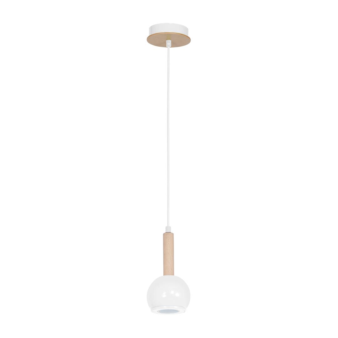 White Bolle White 1x Gu10 Hanging Lamp