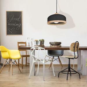Black Hanging Lamp Studio Black 1x E27 small 1