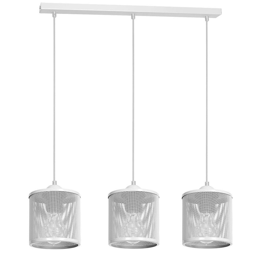 Hanging lamp Louise White 3x E27