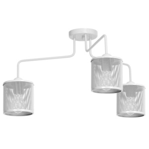 Ceiling Lamp Louise White 3x E27 small 0