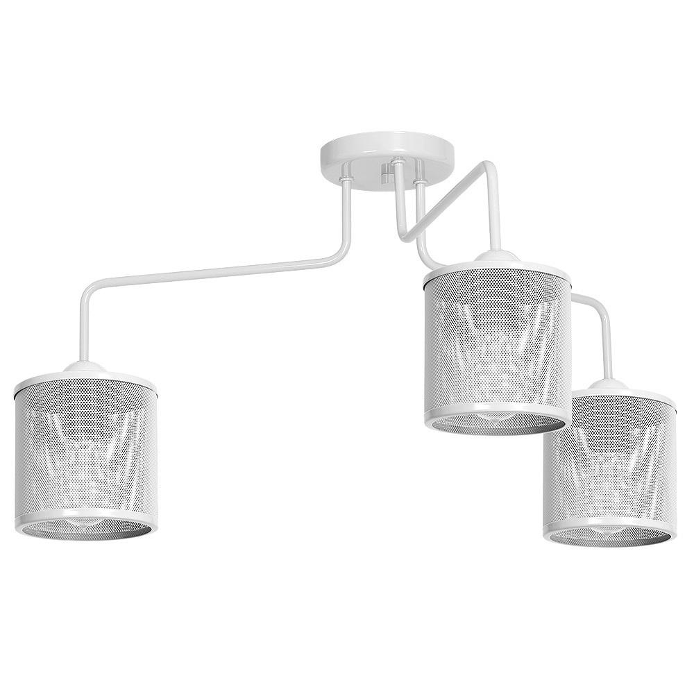 Ceiling Lamp Louise White 3x E27