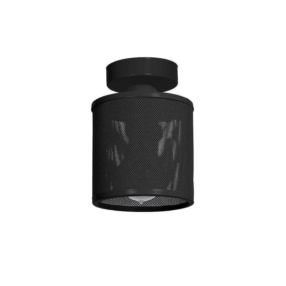 Ceiling Lamp Louise Black 1x E27