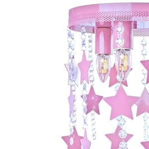 Pink Ceiling Lamp Star 3x E27 small 3