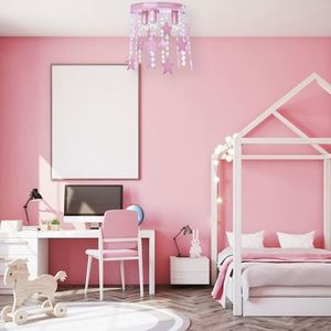Pink Ceiling Lamp Star 3x E27 small 5