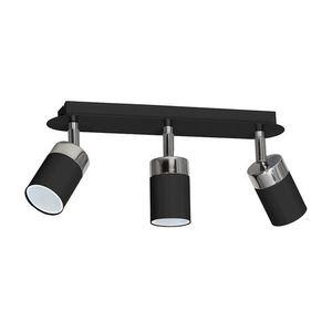 Black Ceiling Lamp Joker Black 3x Gu10 small 0