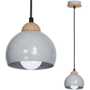 Gray Hanging Lamp Lady Gray 1x E27 small 0