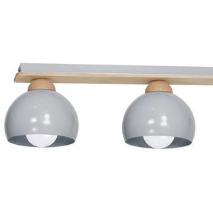 Gray Ceiling Lamp Dama Gray 3x E27 small 1