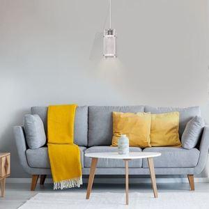 White Bronx Hanging Lamp 1x E27 small 3