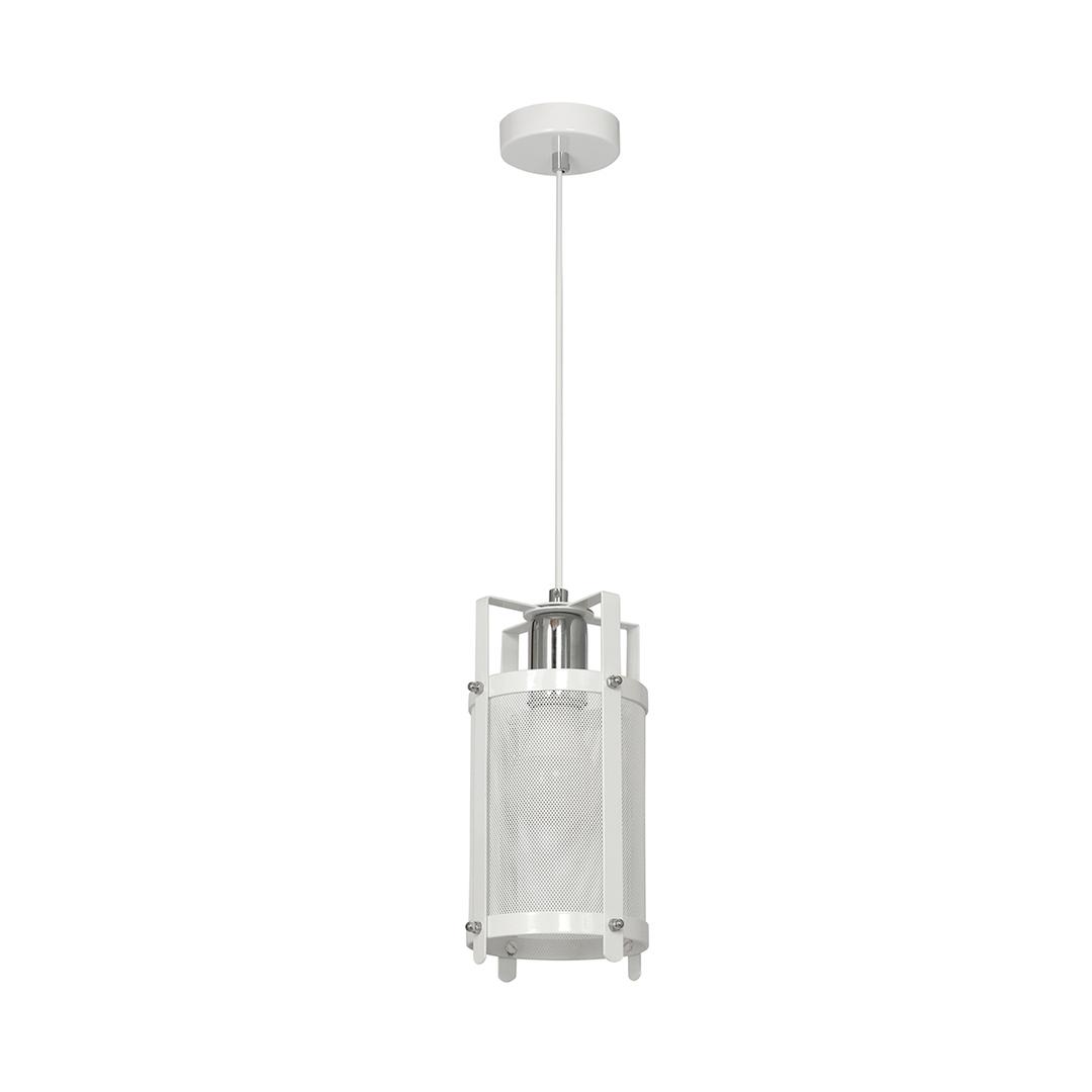 White Bronx Hanging Lamp 1x E27