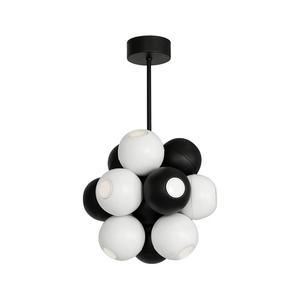 Black Muscat Hanging Lamp 12x Gu10 small 0