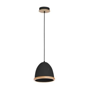 Black Hanging Lamp Studio Black 1x E27 small 0