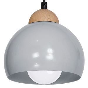Gray Wall lamp Dama Gray 1x E27 small 4