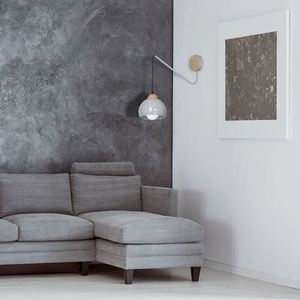 Gray Wall lamp Dama Gray 1x E27 small 5