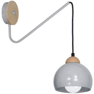 Gray Wall lamp Dama Gray 1x E27 small 0
