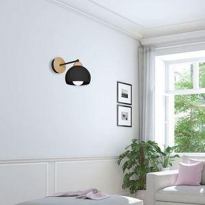 Black Wall lamp Dama Black 1x E27 small 4
