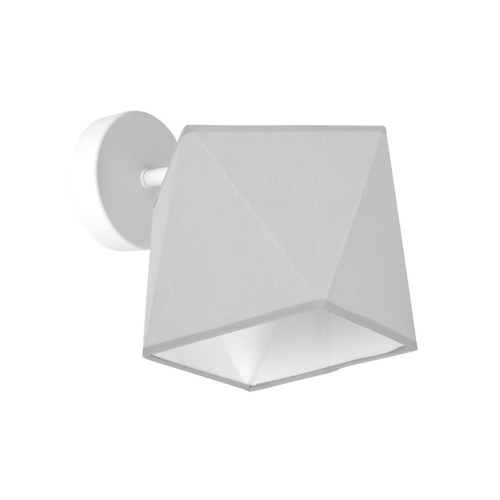 Gray Wall lamp Frank 1x E27