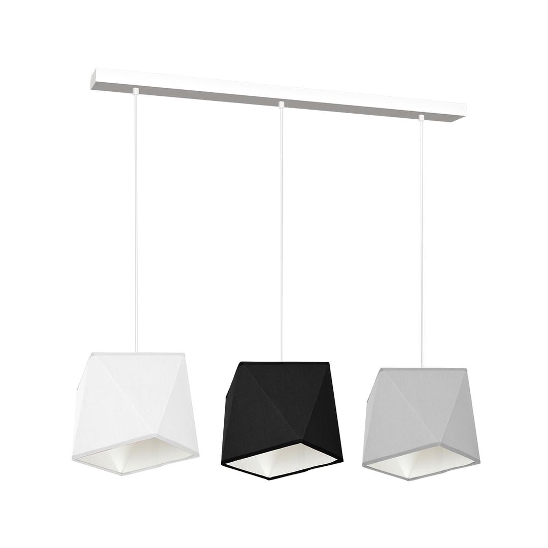 Multicolor Hanging Lamp Frank 3x E27