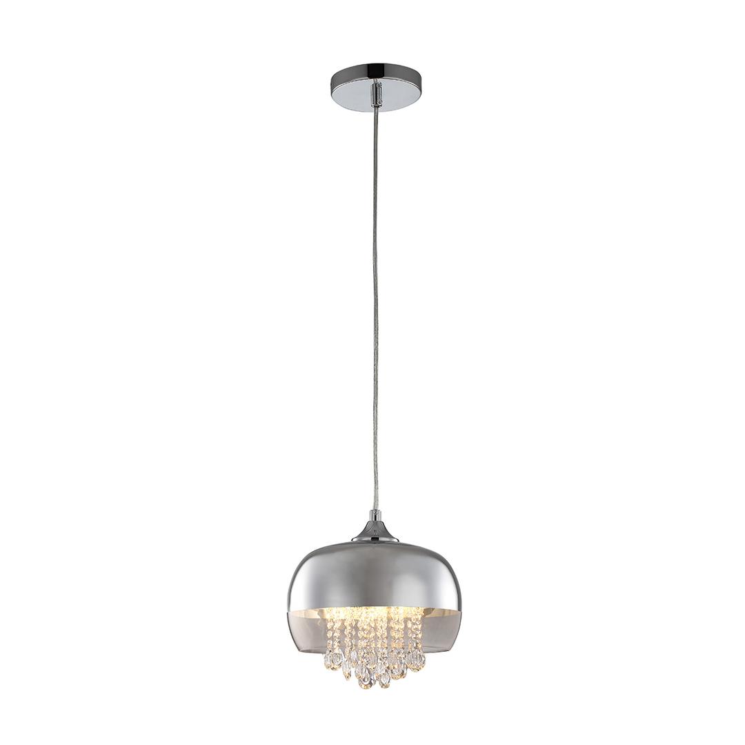 Crystal pendant lamp Luna 1x E14 Led