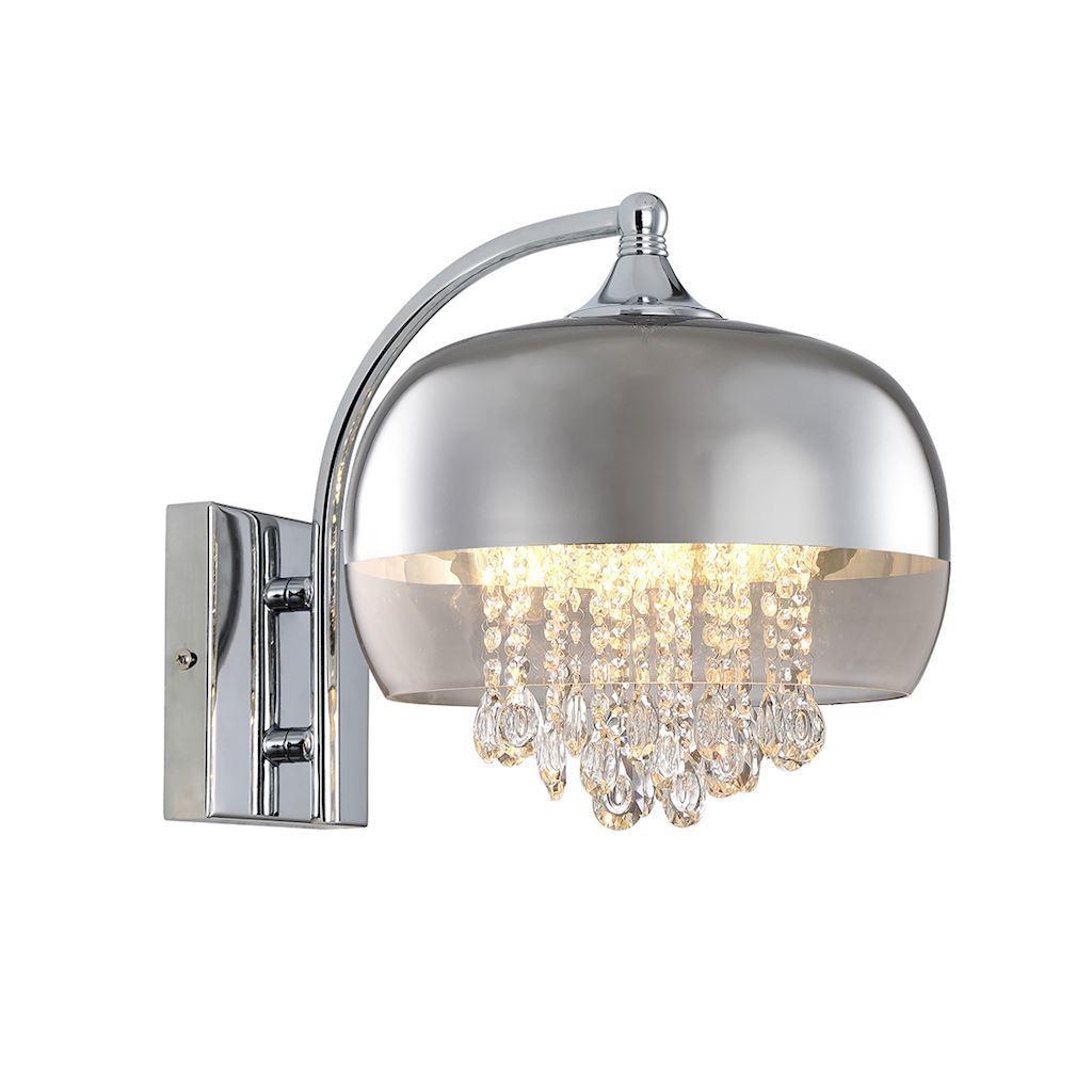 Crystal Wall Lamp Luna 1x E14 Led