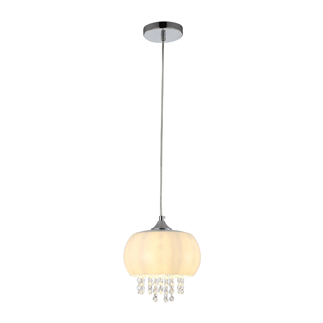 Crystal Pendant Lamp Nova 1x E14 Led