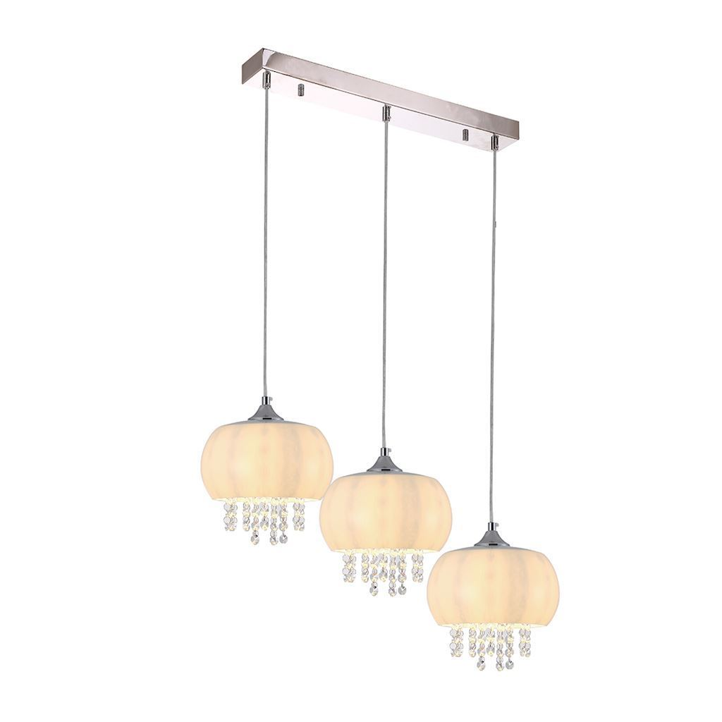 Crystal Hanging Lamp Nova 3x E14 Led