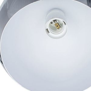 Chrome Ceiling Lamp Toledo 3x E27 small 3