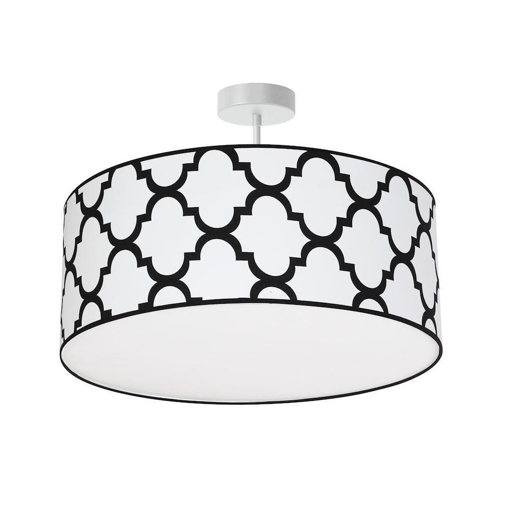 White Pierre White Hanging Lamp 3x E27