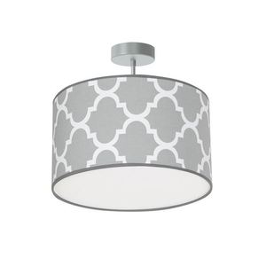 Gray Pierre Hanging Lamp Gray 1x E27 small 0