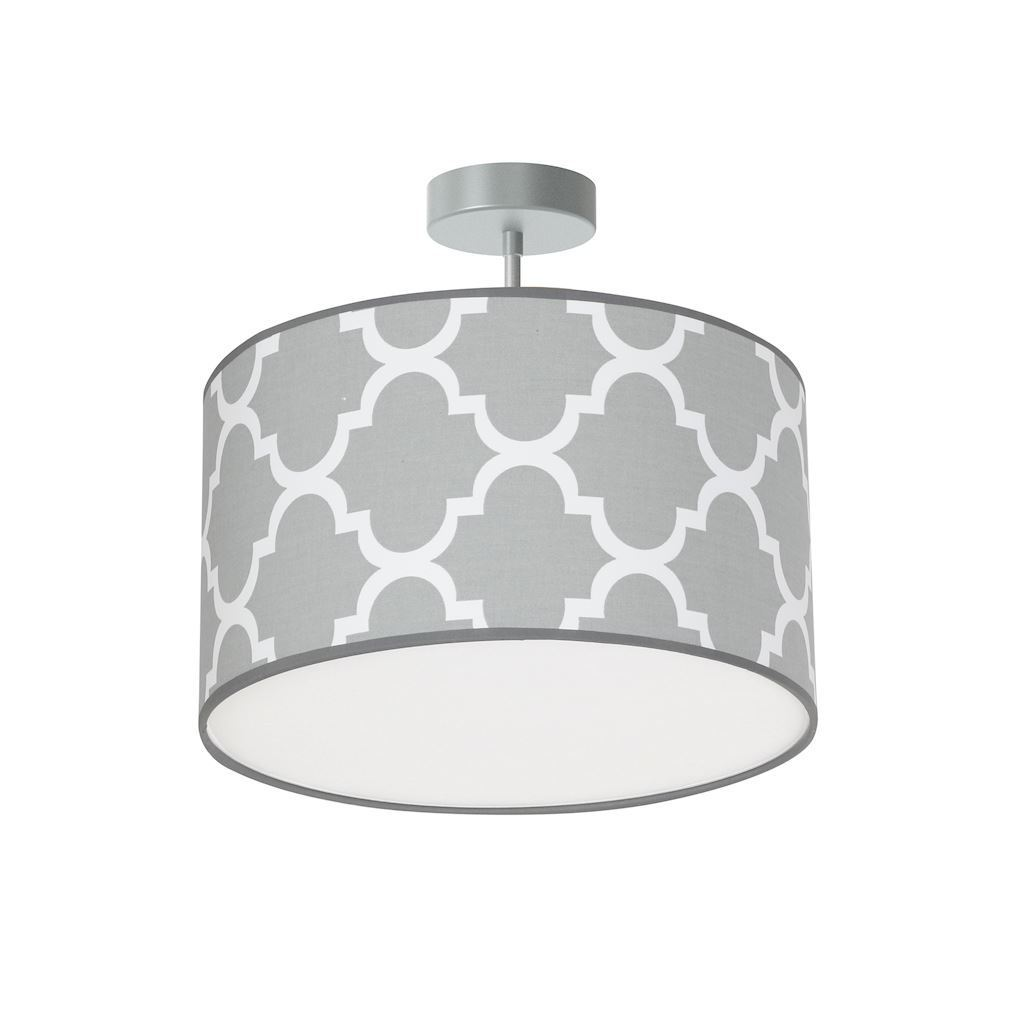 Gray Pierre Hanging Lamp Gray 1x E27