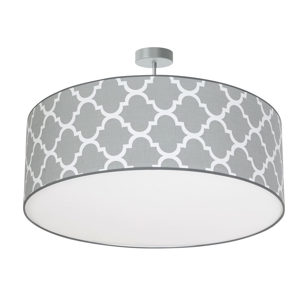 Gray Hanging Lamp Pierre Gray 3x E27
