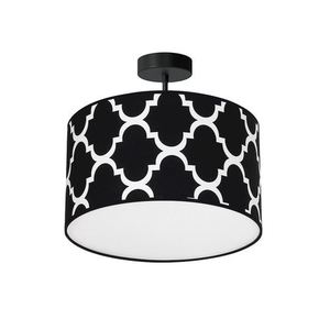 Black Pierre Black 1x E27 Hanging Lamp small 0