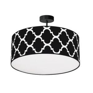 Black Hanging Lamp Pierre Black 3x E27 small 0