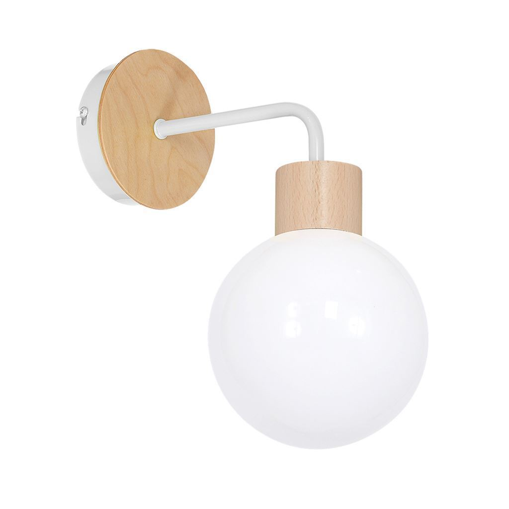 White Wall lamp Bila White 1x E27