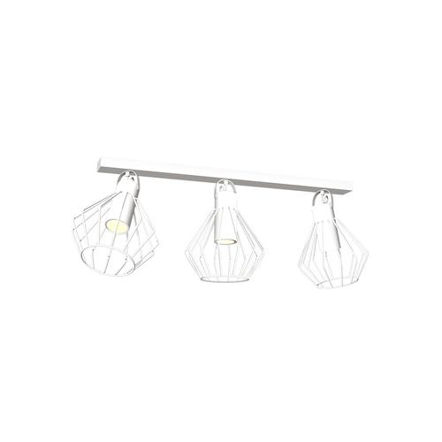 Niko White 3x Gu10 ceiling lamp