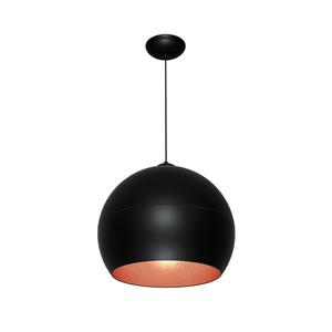 Black Hanging Lamp Lea Black 1x E27 small 0