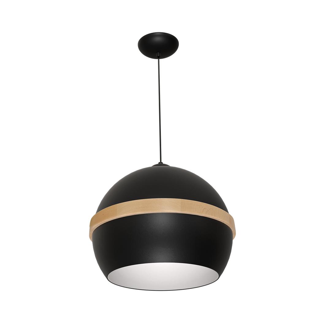 Black Carla Hanging Lamp 1x E27