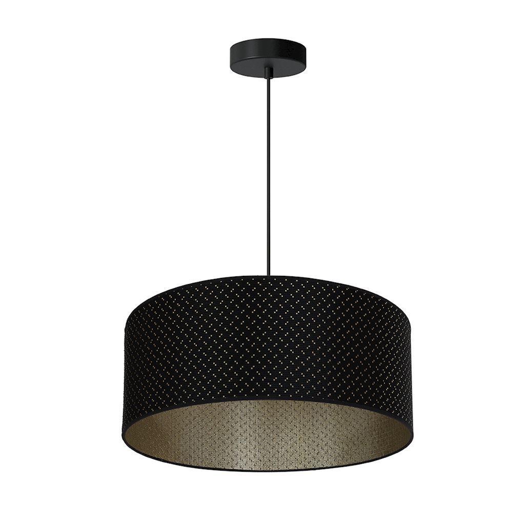 Black Hanging Lamp Aurora 3x E27