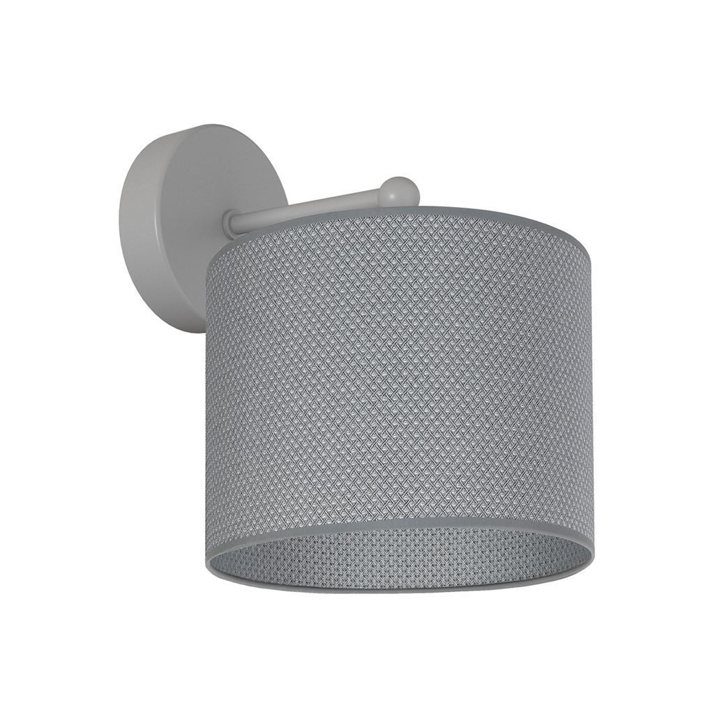 Gray Belvedere 1x E27 wall lamp