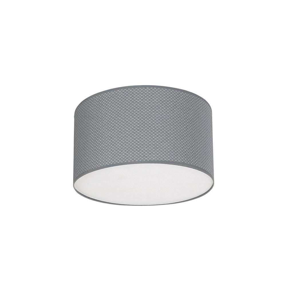 Gray Belvedere 1x E27 Ceiling Lamp